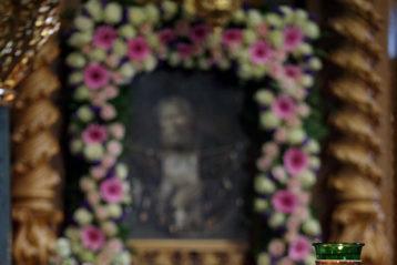 9 августа. В Троицком соборе Дивеевского монастыря (фото Алексея Козориза)