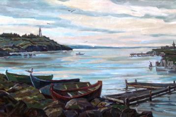 Тихая гавань. Правая часть триптиха. Вечный путь. Мария Занога