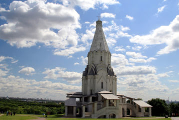Шатровый храм Вознесения в Коломенском