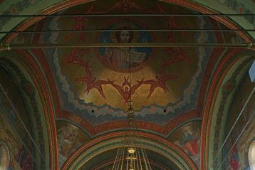 22 сентября. Храм в честь преподобного Серафима Саровского Свято-Успенского монастыря - Саровской пустыни (фото Алексея Козориза)