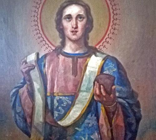 Первомученик Стефан. Иконостас высоковской церкви.