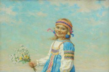 Пятая весна, холст, масло. Владимир Занога, 2005