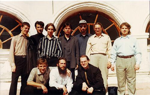 Студенты второго набора Нижегородской духовной семинарии (1994–1998гг.)