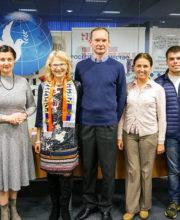 Члены комитета «Русское наследие» и Палаты русскоговорящих сообществ