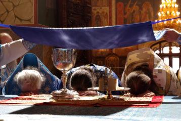 4 ноября. Божественная литургия в Александро-Невском кафедральном соборе Нижнего Новгорода (фото Алексея Козориза)