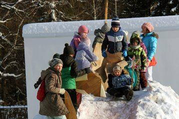 7 января. Во время межприходского рождественского праздника в Сарове (фото Анны Виноградовой)