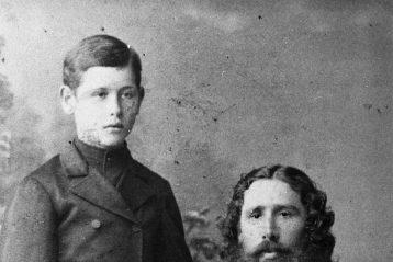 Иерей Василий Розов с сыном Константином
