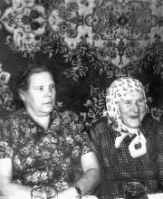 Баба Настя и родня