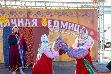 7 марта. Фестиваль-конкурс «Масленичная седмица» на Нижегородской ярмарке (фото Александра Чурбанова)