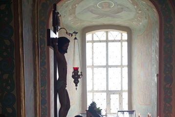 12 апреля. В арзамасском Спасо-Преображенском монастыре (фото Алексея Козориза)