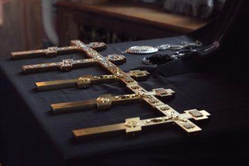 13 апреля. В Троицком соборе Дивеевского монастыря (фото Алексея Козориза)