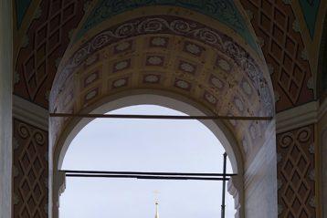 3 апреля. Строящийся Успенский собор Саровской пустыни (фото Алексея Козориза)