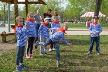 6 мая. Большая Георгиевская игра в г. Дзержинске (фото Воскресенского благочиния)