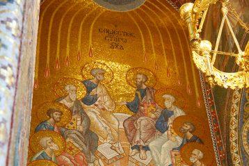 26 июня. В Благовещенском соборе Серафимо-Дивеевского монастыря (фото Сергея Лотырева)