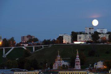 11 сентября. Вид на Строгановскую церковь (фото Алексея Козориза)