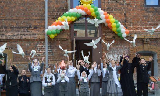 В Сергиевской православной гимназии Нижнего Новгорода состоялись торжественные линейки по случаю начала учебного года