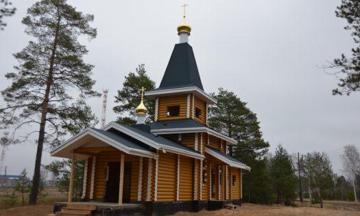 В поселке Керженец заложен храм в честь иконы Божией Матери «Всецарица»