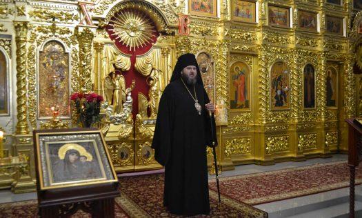 Епископ Дальнеконстантиновский Филарет совершил всенощное бдение в Свято-Николаевском монастыре Арзамаса