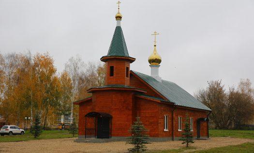 В селе Запрудном Кстовского района освящен храм во имя святой мученицы Татианы