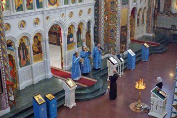 26 октября. Во время Божественной литургии во Владимирском храме Канавинского благочиния (фото благочиния)