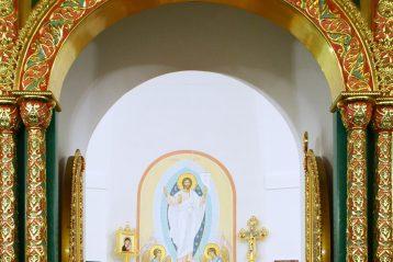 1 декабря. Во время Божественной литургии в Ильинском храме Нижнего Новгорода (фото Нижегородского благочиния)