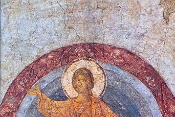 Андрей Рублев. Страшный суд. Фреска Успенского собора во Владимире. 1408 г.