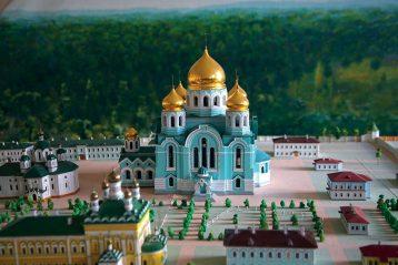 В музее Иверской обители. Так будет выглядеть Троицкий собор после восстановления