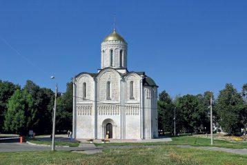 Владимир. Дмитриевский собор.1191 г. Фото: tonkosti.ru