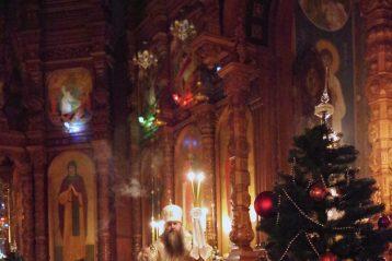 1 января. Во время Божественной литургии в Александро-Невском кафедральном соборе (фото Алексея Козориза)