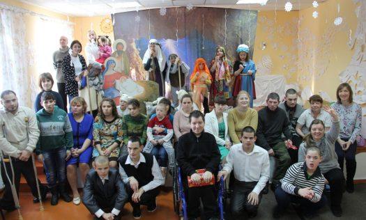 Волонтеры Саровского благочиния посетили психоневрологический интернат в поселке Потьма