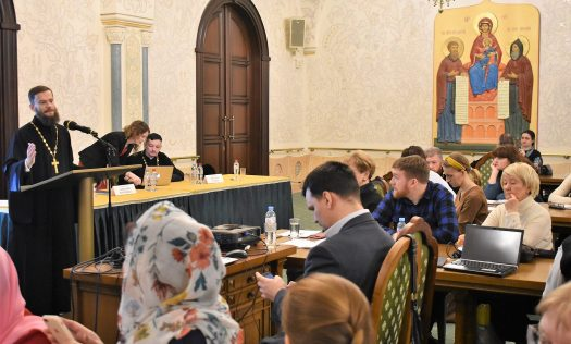 Сотрудники отдела образования и катехизации Нижегородской епархии приняли участие в XXVIII Международных Рождественских образовательных чтениях