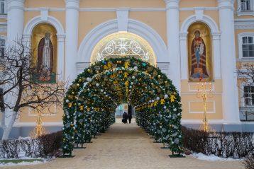 9 января. Свято-Троицкий Серафимо-Дивеевский монастырь (фото Александра Чурбанова)