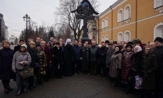 В Москве возложены цветы к памятнику первому председателю Императорского православного палестинского общества