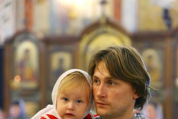 19 августа. В Александро-Невском кафедральном соборе Нижнего Новгорода (фото Сергея Лотырева)