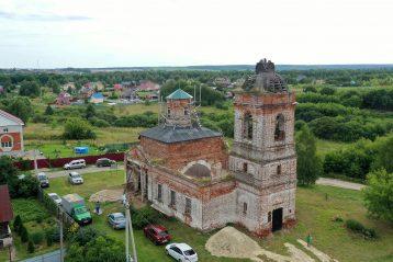 8 августа. Троицкий храм села Спирина (фото Виолетты Калашниковой)