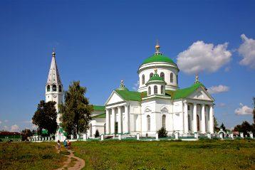 Смоленская церковь в Выездном