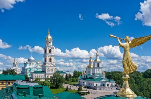 26 мая. Свято-Троицкий Серафимо-Дивеевский монастырь (фото Александра Фролова)