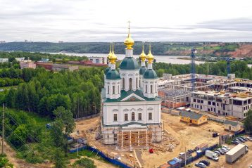 1 июня. Храм в честь святого благоверного князя Георгия Всеволодовича (фото Александра Фролова)