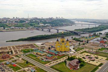 12 июня. Александро-Невский кафедральный собор Нижнего Новгорода (фото Александра Фролова)