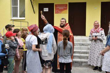 2 июня. Открытие летней православной смены в детском пульмонологическом санатории «Светлана» в поселке Пушкино (фото Воскресенского благочиния)
