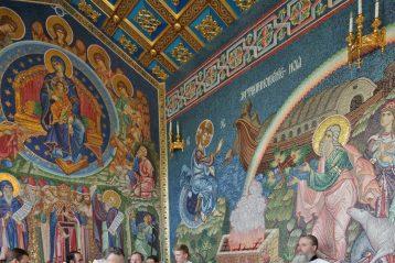 26 июня. Освящение придела в честь Собора Пресвятой Богородицы в Благовещенском соборе Дивеевского монастыря (фото Алексея Козориза)