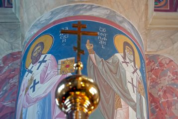 27 июня. В Троицком соборе Свято-Троицкого Серафимо-Дивеевского монастыря (фото Алексея Козориза)