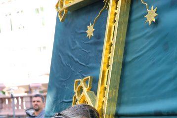 3 июня. После чина освящения креста и купола нижегородской церкви в честь Похвалы Пресвятой Богородицы (фото Серегя Лотырева)