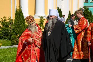 3 июня. В Оранском Богородицком мужском монастыре (фото Александра Чурбанова)