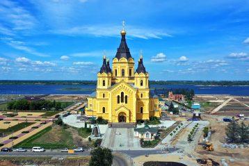 30 июня. Александро-Невский кафедральный собор Нижнего Новгорода (фото Александра Фролова)