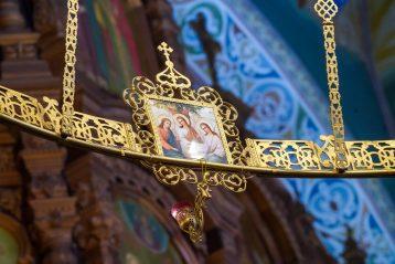 12 июля. В Александро-Невском кафедральном соборе Нижнего Новгорода (фото Александра Чурбанова)