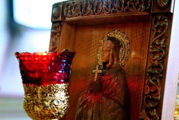 24 июля. В нижегородском храме в честь святой равноапостольной великой княгини Ольги (фото Бориса Поварова)