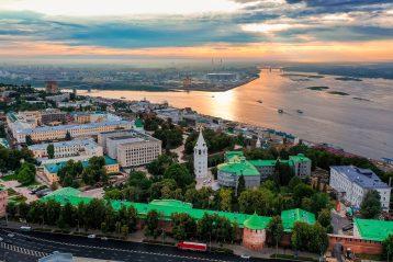 30 июля. Нижегородский кремль (фото Александра Фролова)