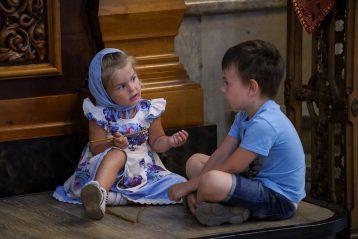 7 июля. В Александро-Невском кафедральном соборе (фото Александра Чурбанова)
